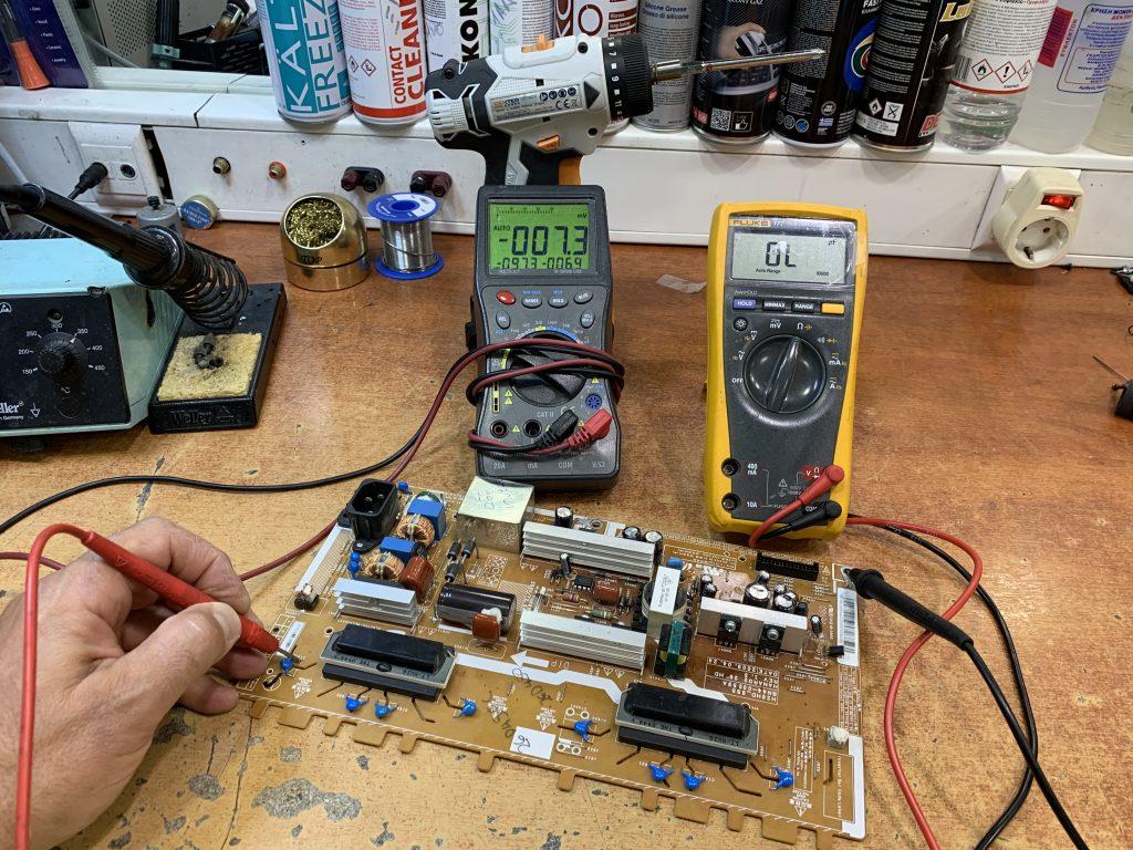 7 επισκευή πλακέτας service inverter